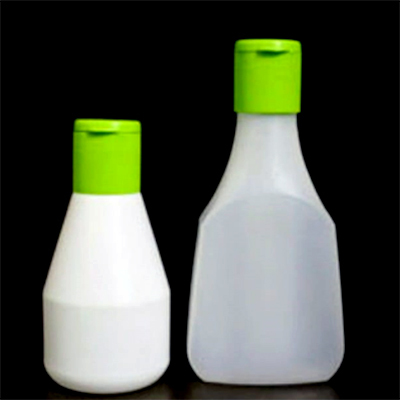 Green Mint Sauce Bottle