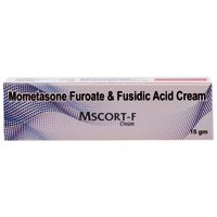 Mometasone fluroate, Fusidic acid Creme