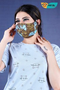 3 Ply Cotton Face Mask