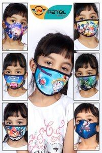Kids Cotton Face Mask