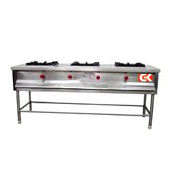 Gas Burner Range