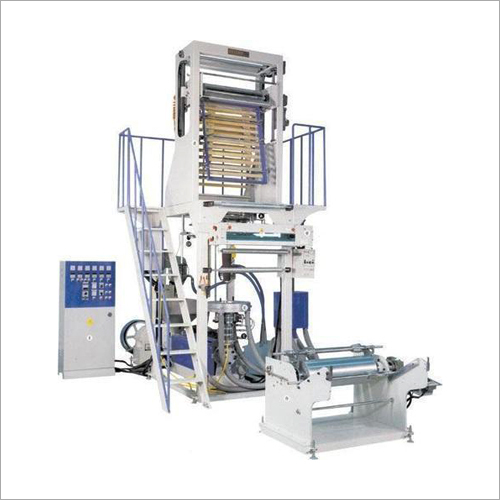 Single Extruder Blown Film Plant