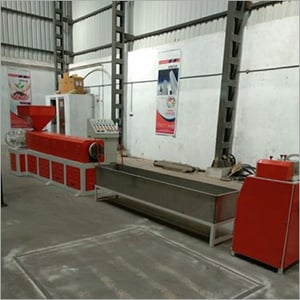 Plastic Waste Recycling Lumps Plant