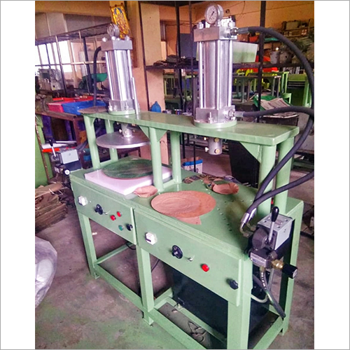 Double Head Paper Plate Making Machine