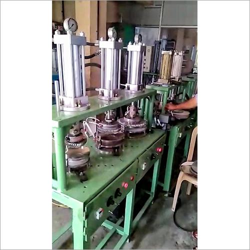 Multiple Head Paper Plate Making Machine