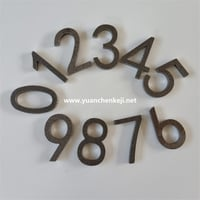 Metal Letters and Numbers