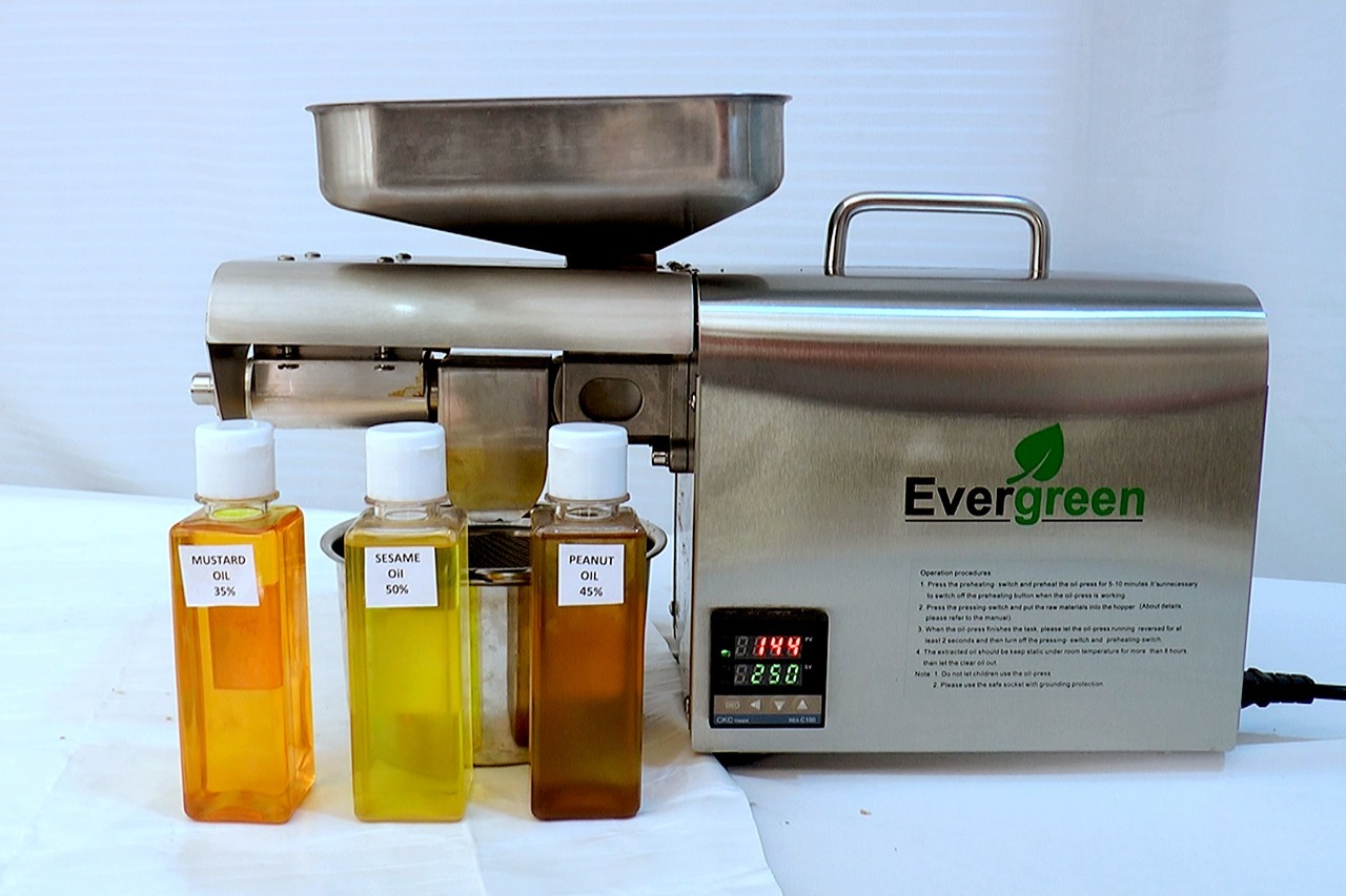 Almond Oil Press Machine(350W)