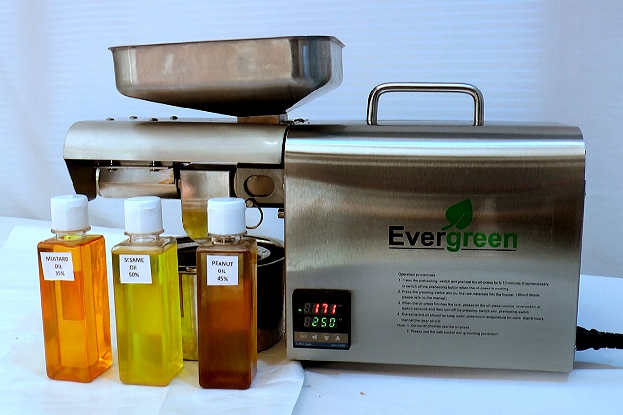 Walnut Oil Extraction Machine (400W)