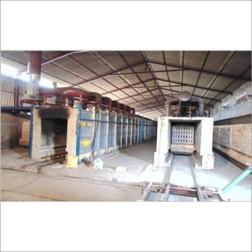 Drying & Firing - Waste Heat Drier & Tunnel Kiln