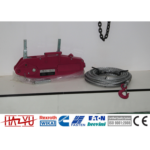 TYSM-618 0.8 Manual Tirfor Wire Rope Hoist/ Manual Cable Puller