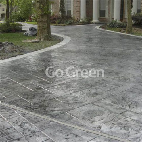 Stamped Road Concrete