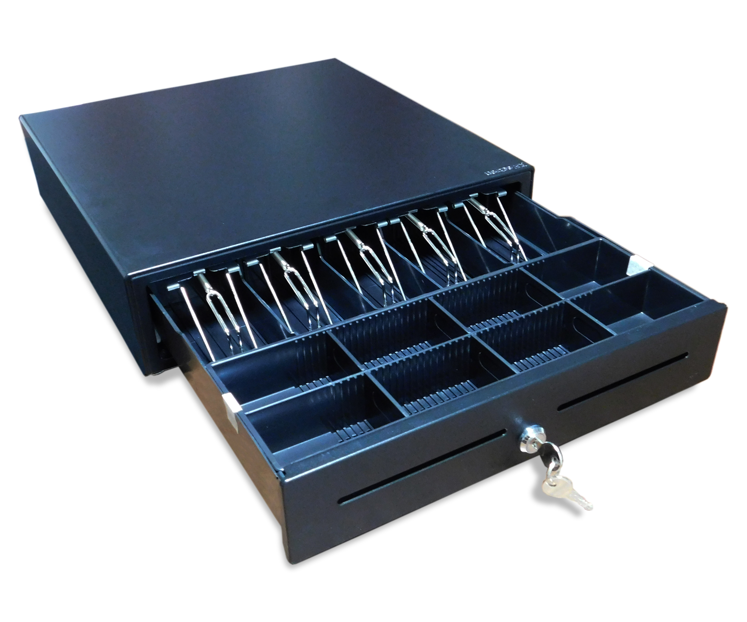 13 Compartments Metal Cash Drawer