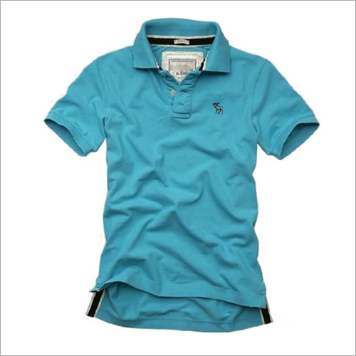 Mens Daily Wear Collar T-Shirt