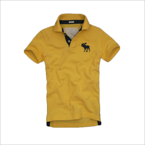 Mens Yellow Collar T-Shirt