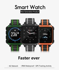 H7 Smart Watch Men Waterproof GPS Android 4G Message Call Reminder Ip68 Sport Watch