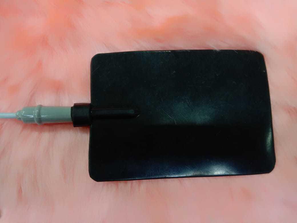 Double Channel Conductive Electrodes / Pads