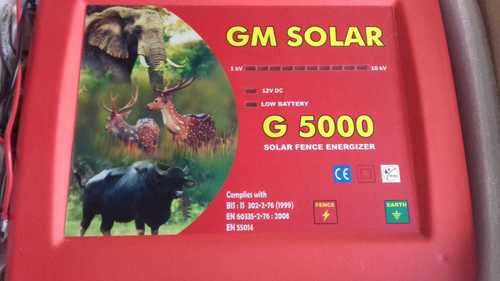 Solar Electric Fence Energizer Kit