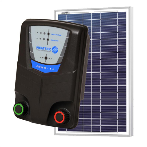 Solar Electric Fencing Unit