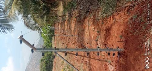Solar Electric Fencing work