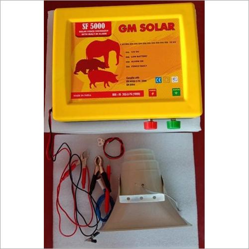 Solar Power Fence Energizer