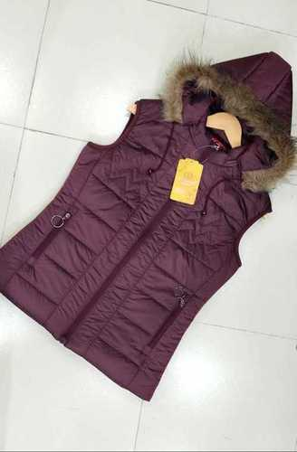 Girls sleeveless jacket