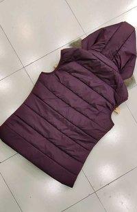 Girls sleeveless jacket
