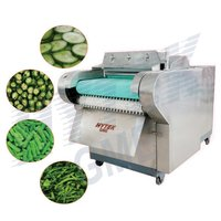 Okra Cutting Machine