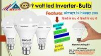 Inverter 9 Watt LED Bulb