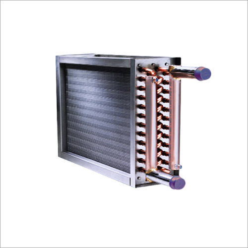 Dehumidifying Heating Cooling Coil