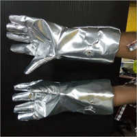 Aluminised Gloves