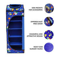 Blue Multipurpose Designer Rack