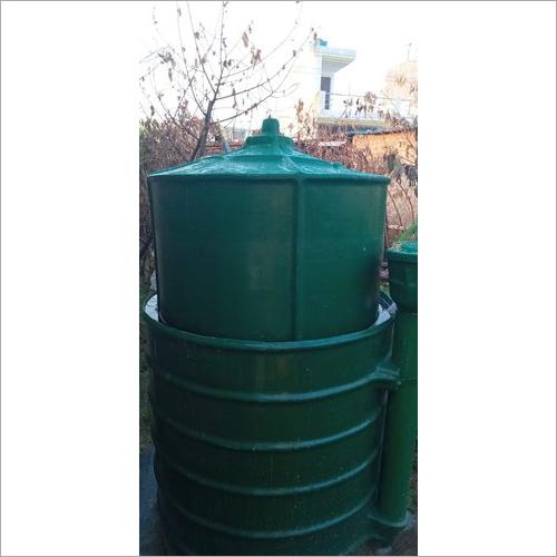 FRP Portable Biogas Plant
