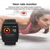Smart Wristband Watch Blood Pressure Oxygen Smart Band Customize Watch QS05