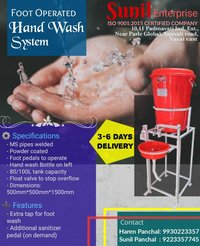 2 in 1 Hand Wash station
