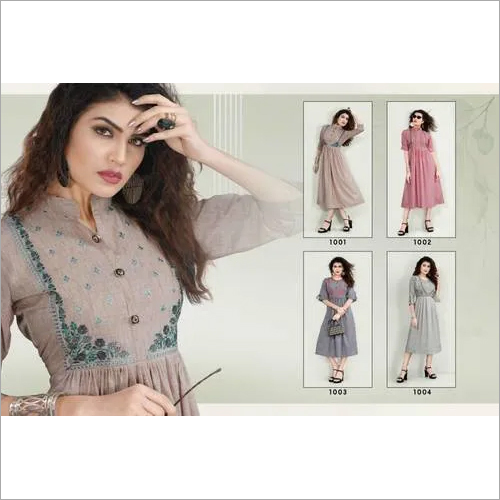 Cygnus Arohi Wholesale Kurti Clothing Set