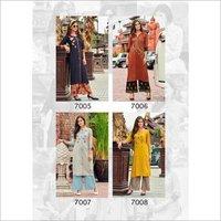Dani Vol-7 Rayon Organic Linen Kurti Catalog