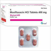 Moxifloxacin Hydrochloride BP 400mg