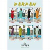 Darpan Mirror Handwork Wholesale Kurti