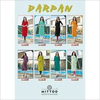 Darpan Mirror Handwork Wholesale Kurti
