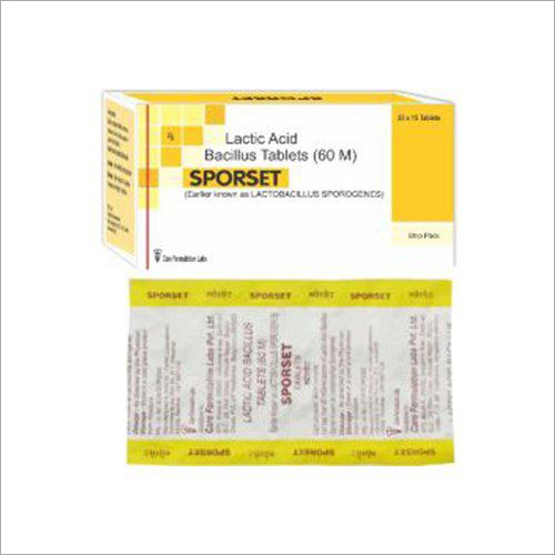 Lactic Acid Bacillus Tablets 60 M