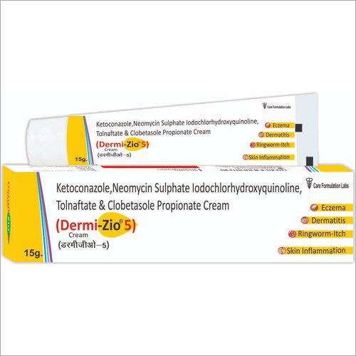 Clobetasol Propionate USP 0.5 Mg Neomycin Tolnaftate IP 10 Mg