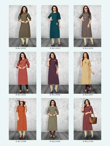 Dehliz Trends Pranci Vol-2 Cotton Kurti
