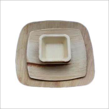 Areca Round Leaf Plates