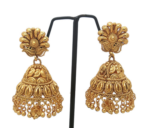 Latest New Simple Design Jhumka Earring