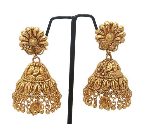 Latest New Simple Design Jhumka Earring