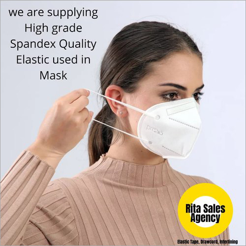 Spandex Woven Face Mask Elastic Tape