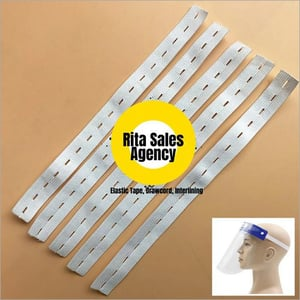 Face Shield Punch Elastic Tape