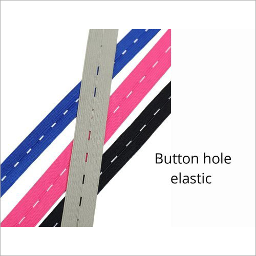 Surgical Face Shield Knitted Buttonhole Elastic Tape