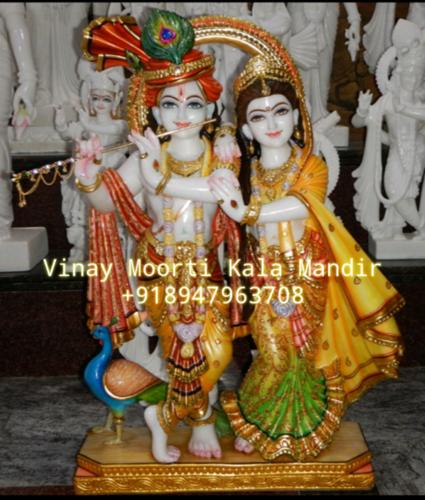 Jugal Jodi Radha Krishna Statues