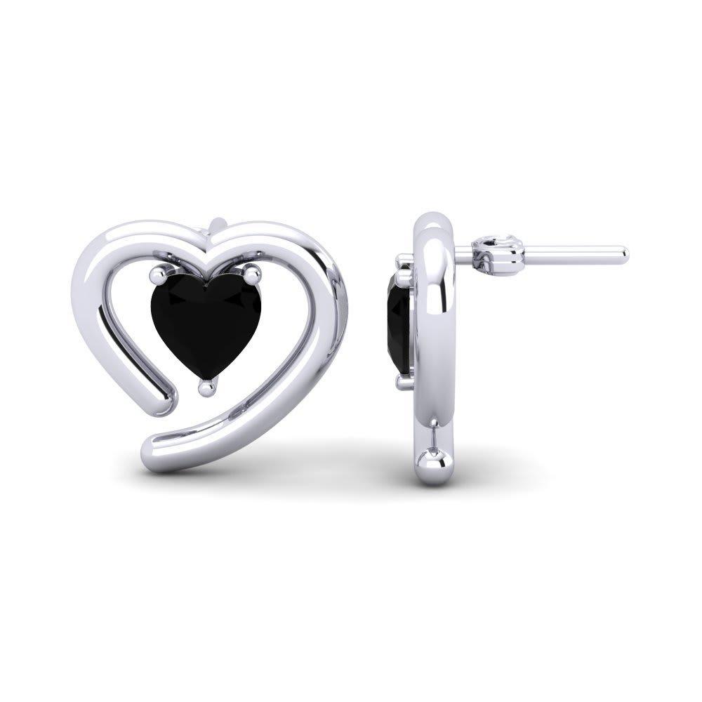 onyx earring